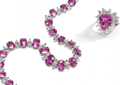 OH - PINK SAPPHIRE SET