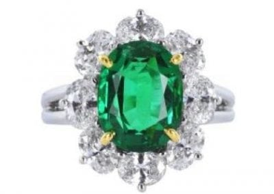OHR110_Oscar_Heyman_Emerald_and_Diamond_Ring