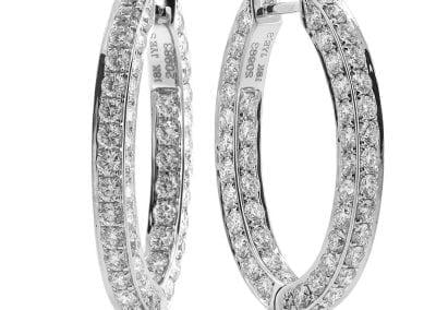 jye diamond hoops