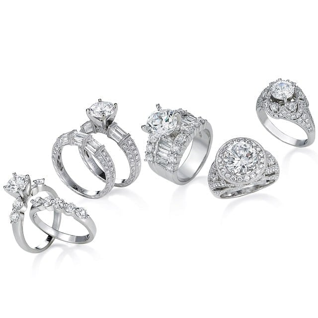 jye diamond ring grouping