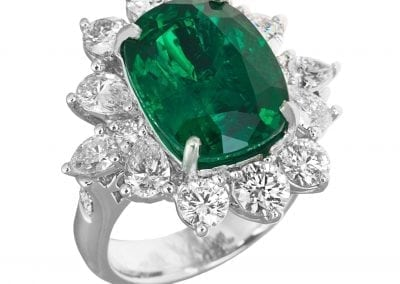 jye emerald and diamond ring