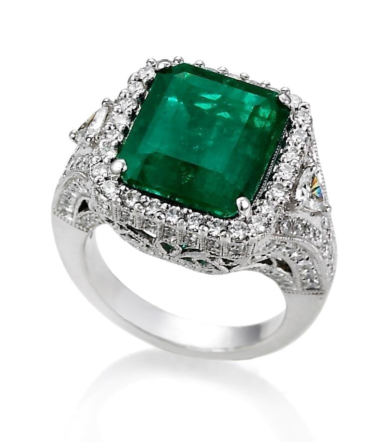 jye emerald ring