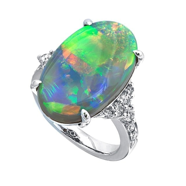jye fire opal ring