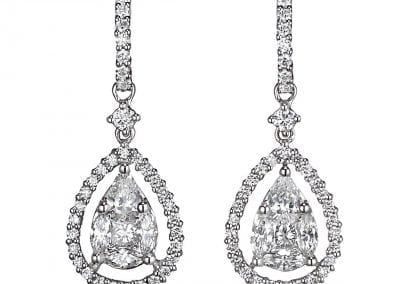 jye pear drop earrings
